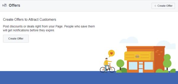 Create Facebook Offers